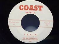 "The Go-Togethers,Coast 100,""Train"",US,7"" 45,1959 doo wop,RARE, Mint"