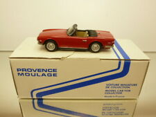 PROVENCE MOULAGE TRIUMPH TR6 CONVERTIBLE - RED 1:43 GOOD IN BOX