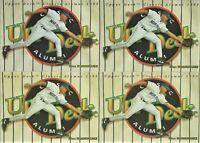 1994 Upper Deck Classic Alumni 298 Alex Rodriguez Rookie Seattle Mariners Lot x4