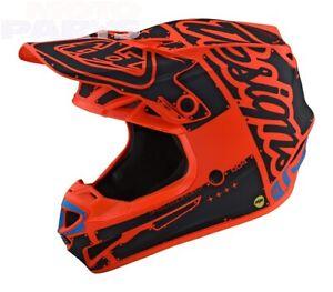 Helmet TLD SE4 Polyacrylite, Factory Orange, size XS (MIPS)