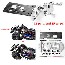 GRC TRX4 G2 Motor Pre-gear Box Metal Front T4 Front-mounted V8engine for Crawler