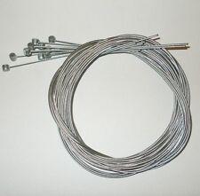 Lot 25 cables de frein vélo VTT BMX bike VTC 15//10ème 1m80 NEUF boule cylindre