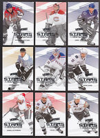 2010-11 UD VICTORY STARS OF THE GAME COMPLETE 50-CARD INSERT SET Sidney Crosby