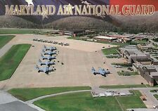 Maryland Air National Guard, Martin State Airport, MD, Airplanes etc. - Postcard