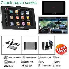"7"" Touch Screen TRUCK CAR Navigation GPS Navigator SAT NAV System FREE MAP V0V2"
