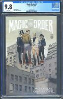 Magic Order 1 (Image) CGC 9.8 White Pages Premiere issue Mark Millar story