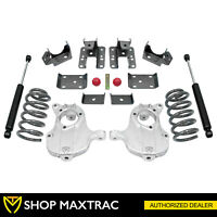 "MaxTrac 4""/6"" Drop Lowering Kit KA331546-8 For 2016-2018 GMC Sierra 1500 2WD"