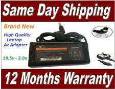 Sony Vaio 19.5v 3.9a Laptop Ac Adapter Replacement Model VGP-AC19V20 + UK Cord