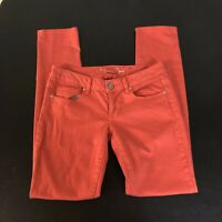 American Eagle Outfitters Coral Orange Jeans Pants Size 4 Womens