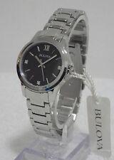 Bulova Ladies 96P153 Diamond Mother of Pearl Dial Bracelet Watch RRP £125 NEW