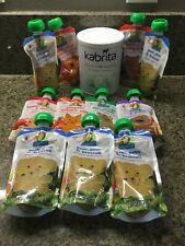 BRAND NEW Kabrita Goat Milk & 11 Pouches O Organic Baby food