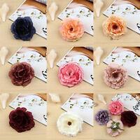 Hair Flower Corsage Hair Clip Wedding Bridal Bridesmaid Brooch Bridesmaid