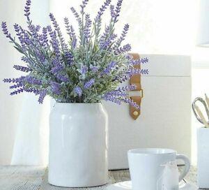 Artificial Home Desktop Lavender Type Flowers Plastic Material Bouquet Style New