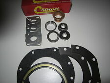 King Pin Knuckle Rebuild Kit Bushing,Wiper Seal,Bearings,Races, 25 27 30
