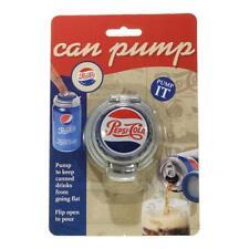 Jokari 18003P2 Pepsi Heritage Logo Soda Can Pump & Pour Set of 2