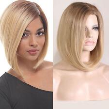 FR_ EG_femmes court lisse cheveux Cosplay fête soirée Perruque CADEAU NATUREL