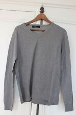 BEAU PULL ZARA GRIS TAILLE L HOMME 40