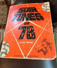 Star Tunes Of 78 Song Book
