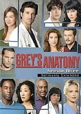 GREY'S ANATOMY: COMPLETE THIRD SEASON DVD MOVIE *NEW* AUS EXPRESS
