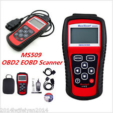 MS509 EOBD OBD2 Car Scanner Diagnostic Live Data Code Reader Check Engine Tool
