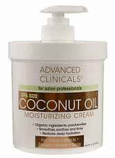Crema De Coco Para El Cuerpo Organico Natural - Restaura La Hidratación Profunda