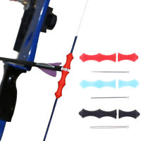 1 Set Archery Finger Guard Arrow Bowstring Accessories Hunting Protector Ut