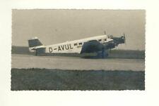 Foto AK,2.WK, WW2, - Luftwaffe, Flieger, Junkers Ju 52