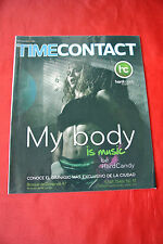 Madonna Time Contact March 2012 Mexico Import Hard Candy Fitness Magazine