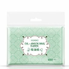 Film Tissue Make Up Absorbing Blotting Facial Clean Paper Oil Control 100 Sheets