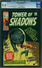 Tower of Shadows # 6 CGC 9.0 -- 1970 -- Marie Severin. Wally Wood. #0126929010