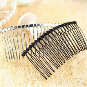 5pcs/lot Bridal Claw Hairpins Iron Metal Clip Combs Jewelry Hair Making Accessor