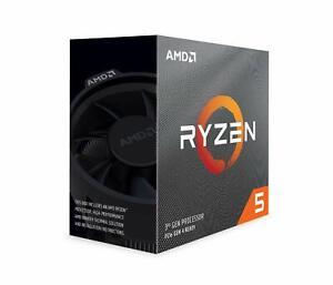 AMD Ryzen 5 3600 6Core 12Thread 3.6GHz 7nm PCIe4.0 65W CPU Processor