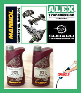 differential front and rear oil set service for all Subaru models