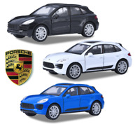 1:36 Porsche Macan Turbo SUV Model Diecast Collection Car Pull Back Vehicle Toy