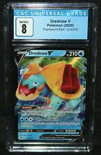 Pokemon - Drednaw V - Champion's Path 14/73 (CGC NM/Mint 8) 2020