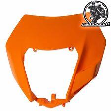 Headlight Lamp Mask orange for KTM EXC/F/125/200/250/300/350/450/500 2014-2017