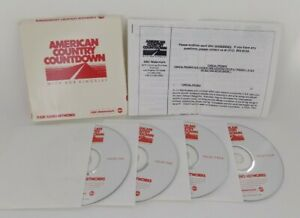 RARE American Country Countdown w/ Bob Kingsley Radio Shows from 1993 on 4 CDs!