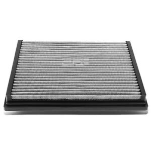 Fit A4/A6/Quattro/S4/S6 Silver Reusable/Washable Drop In Air Filter Panel