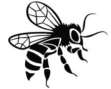 BEE  CAR DECAL STICKER