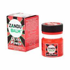 20X Zandu Balm Ultra Power Strong Headache, Backache, Knee Joint Pain, Cold 8ML