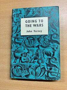 "1957 JOHN VERNEY WW2 SBS MEMOIRS ""GOING TO THE WARS"" HARDBACK BOOK & DJ (P3)"