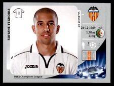 Panini Liga de Campeones 2012-2013 Sofiane Feghouli Valencia CF no. 403