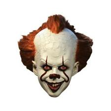 Trick or Treat It Pennywise Clown Deluxe Mask Adult Halloween Costume Mbwb100