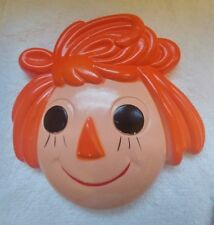 Raggedy Ann and Andy Wall Decor, Vintage