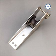NEW BOAT BOW ROLLER SATIN FINISH STAINLESS STEEL WITH SAFETY PIN