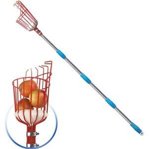 Fruit Picker with 260cm Extension Pole - Twist-On Fruit Picker Garden Tool