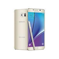5.7'' Samsung Galaxy Note 5 N920T 32GB 3G 4G LTE Unlocked Teléfono móvil - Oro