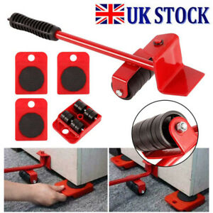 ✔Heavy Furniture Shifter Lifter Set Wheel Moving Slider Mover Table Sofa Removal