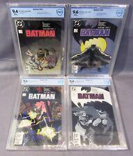 BATMAN #404 405 406 407 (1st Catwoman, Year One full run) CBCS 9.4 9.6  DC 1987