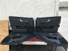 MERCEDES W212 E63 E550 E350 COMPLETE LEATHER INTERIOR DOOR PANEL PANELS SET OEM